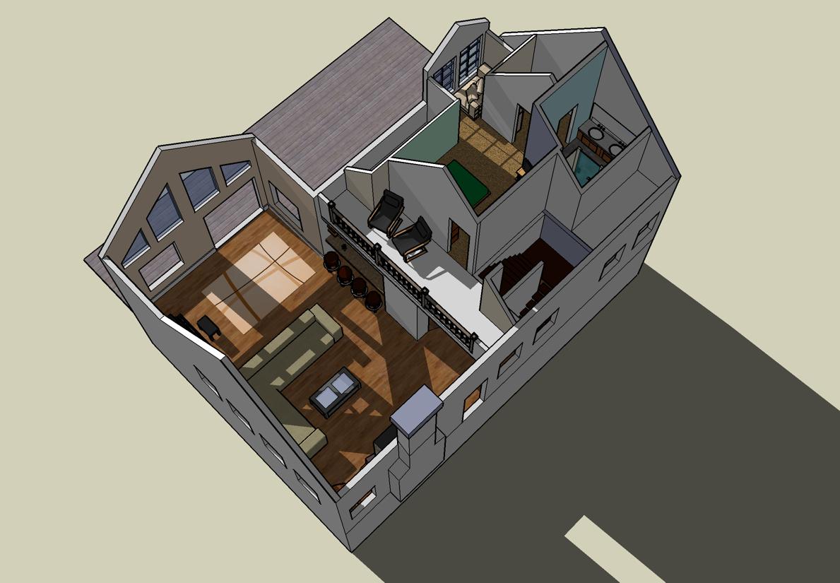 Designa ditt eget hus 3d